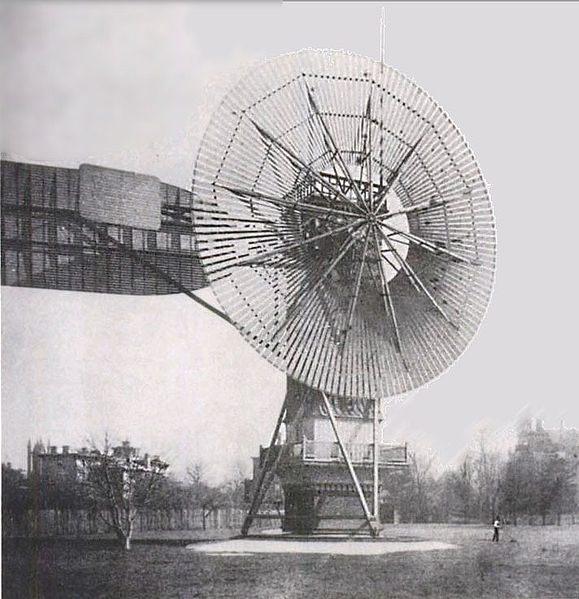 نخستین توربین بادی اتوماتیک