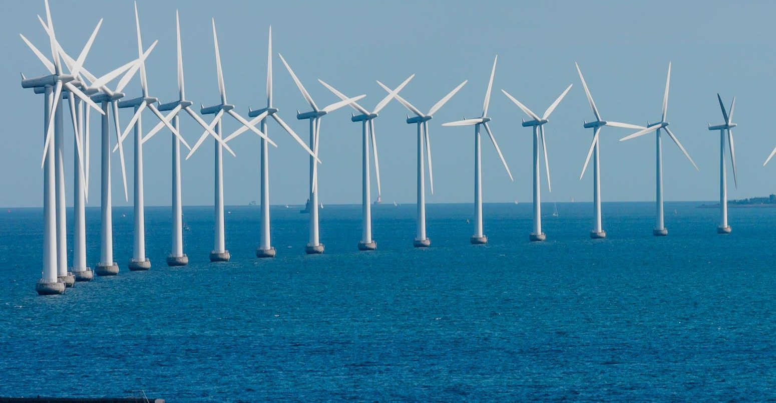 نیروگاه بادی در دریا