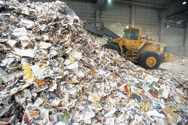 محل بازیافت کاغذ